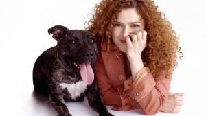 Bernadette Peters & Pup!