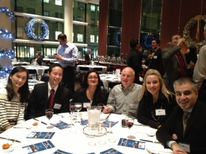 With several of my students at a PMINYC Holiday Party