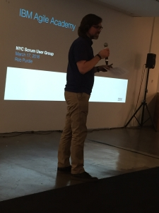 Rob Purdie, IBM Agile Academy